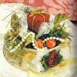 Homemade Teacup Christmas Ornaments