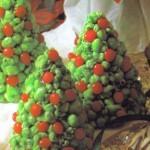 Festive Christmas Popcorn Trees